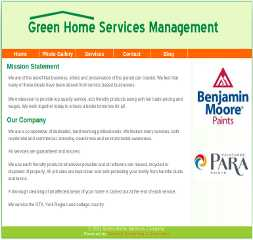 Green Home Services Management