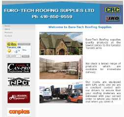 Euro-Tech Roofing Supplies